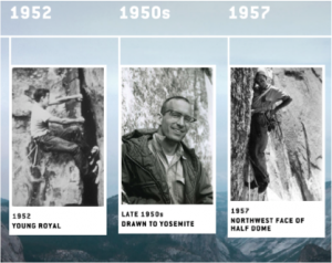 Royal Robbins® Unveils the Historical Timeline of Founders Royal and Liz Robbins