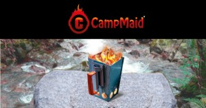 New Charcoal Chimney Kickstarter Campaign from CampMaid Takes Outdoor Cooking to New Level