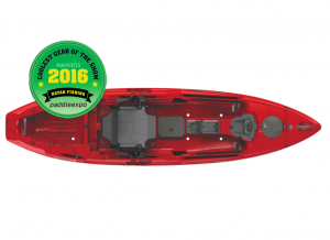 Wilderness Systems Radar 115 Kayak Wins PADDLEexpo's Coolest Product of the Show 2016 Award for 'Kayak Fishing' Category