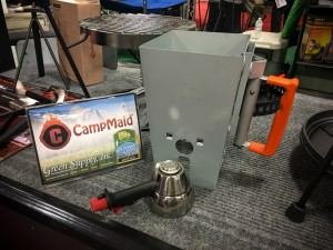 """Outdoor Retailer Announces CampMaid's New Charcoal Chimney as the """"Light My Fire"""" Award Winner"""