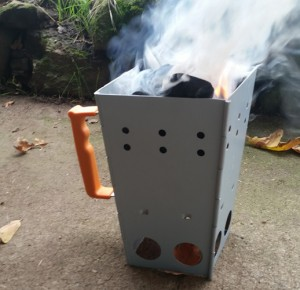 New Charcoal Chimney by  CampMaid Kickstarter Campaign Successfully Funded