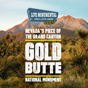KEEN's Live Monumental Campaign Celebrates one of our Country's Newest National Monuments: Nevada's Gold Butte