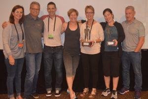 Balega Presents Induna Award to Two Stores  at Fleet Feet Sports National Conference