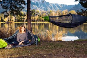 Flying Tent the worldu0027s first all-in-one floating tent bivy tent : bivy hammock tent - memphite.com