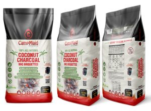 CampMaid Unveils New Coconut Charcoal at Outdoor Retailer Tradeshow
