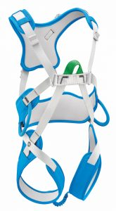 Petzl Introduces Easily Adjustable Harness for Children Less than 66 Lbs