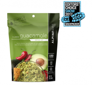 AlpineAire Classic Guacamole Awarded Backpacker Editors' Choice