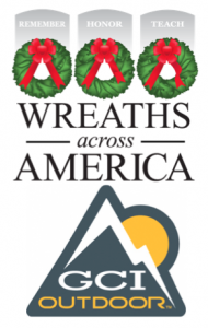 GCI Outdoor Honors Fallen US Veterans, Donates Wreaths to Wreaths Across America
