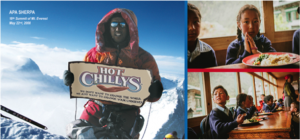 Hot Chillys Supports the Apa Sherpa Foundation's Hot Lunch Program  with a Happy Hour at 2018 Outdoor Retailer + Snow Show