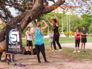 University of Mary Hardin-Baylor partners with Slackline Industries, promotes balance in student life