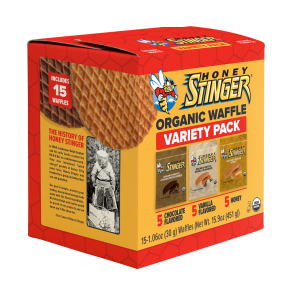 Honey Stinger Introduces New Organic Waffle Variety Pack