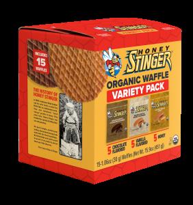 Honey Stinger Introduces New Organic Waffle Variety Pack