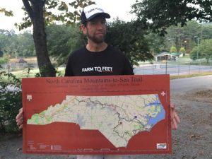 Farm to Feet ambassador with blood cancer to run across North Carolina