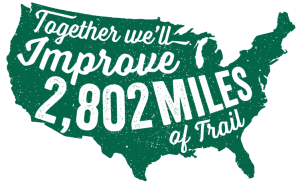 2,802 Miles of Trail to be Improved on National Trails Day®
