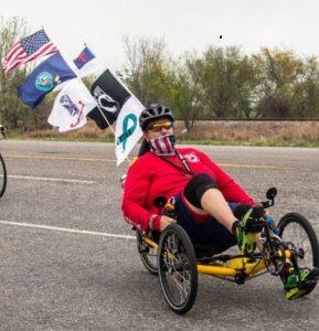 TerraTrike Sponsors Veteran Circumnavigating U.S. to Raise Awareness for PTSD