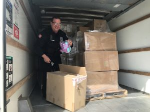 Bridgedale Partners with Niagara Frontier Transit Police to Donate 3,000 Pairs of Socks