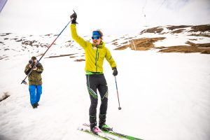 Lars Erik Skjervheim Sets A New World Record in Ski Mountaineering