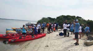 Adaptive Athletes Paddle Sea Kayaks in World T.E.A.M.'s Coastal Team Challenge