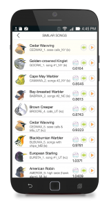 Song Sleuth birding app now available for Android