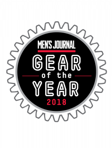 RovR Chilling with a Men's Journal 2018 Gear of the Year Award