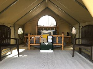 Diamond Brand Gear Outfits First Ever Forest Service Glamping Site