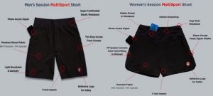 ElevenPine Kickstarts Successful Launch of World's First Dual-Fit Multisport Short