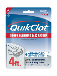 Safe, Easy-to-Use QuikClot® Gauze Puts Power to Stop Bleeding in Everyone's Hands