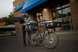 Rad Power Bikes Lands National Partnership with Domino's