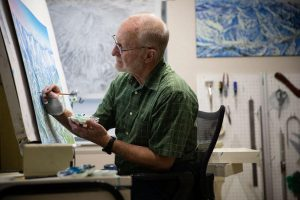 James Niehues, The Man Behind the Maps, Nominated to U.S. Ski and Snowboard Hall of Fame