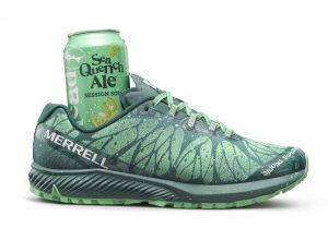Merrell and Dogfish Head Craft Brewery Launch Limited-Edition Trail Running Shoe