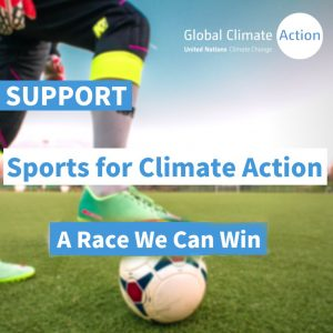 World OCR Joins UNFCCC's Sports for Climate Action