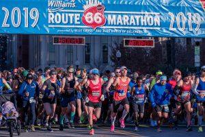 Record Setting Races at Tulsa's Williams Route 66 Marathon
