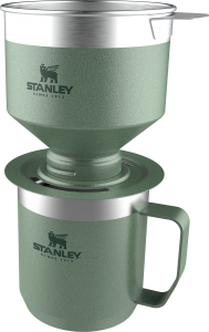 Perfecting the Pour Over. Stanley Introduces New Pour Over and Camp Mug Collection for Fall 2020