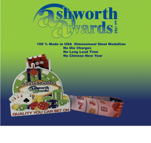 Ashworth Awards launches its 100% Made in USA dimensional steel product line