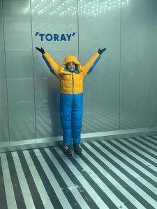 Toray Hosts Testing Of New Marmot Everest Suit Design