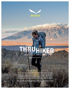 Salewa North America Announces Inaugural Thru Hiker Project