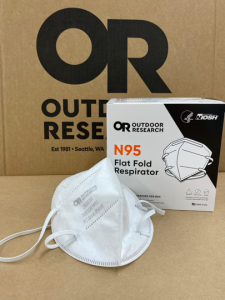 Outdoor Research achieves NIOSH approval for U.S.-Made N95 Flat Fold Respirator Mask